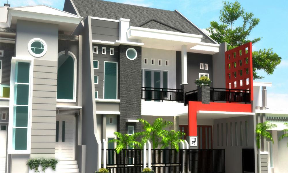 contoh desain rumah minimalis 1