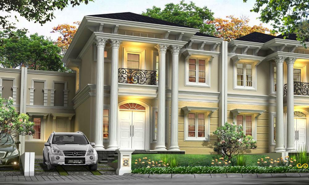 contoh rumah mewah 1