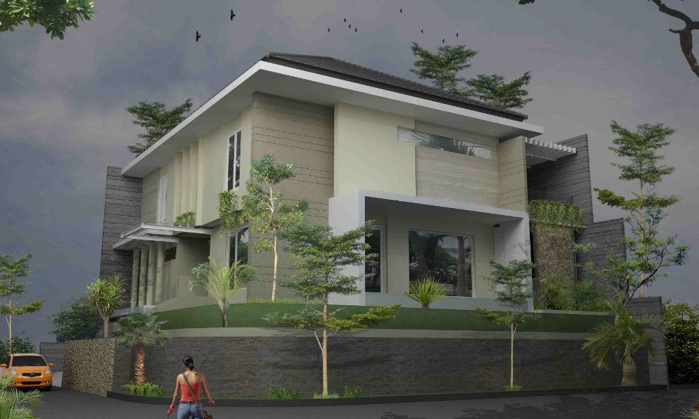 contoh rumah mewah hook 1